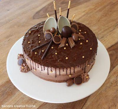 Kerstins Kreative Kuche Schoko Traum Fur Eine Traumhochzeit Kuchen Und Torten Leckere Torten Kuchen Ohne Backen