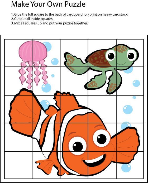 Www Familyshoppingbag Com Img View Print Php Img Puzzle 617013 Png Preschool Activities Puzzle Game Nemo