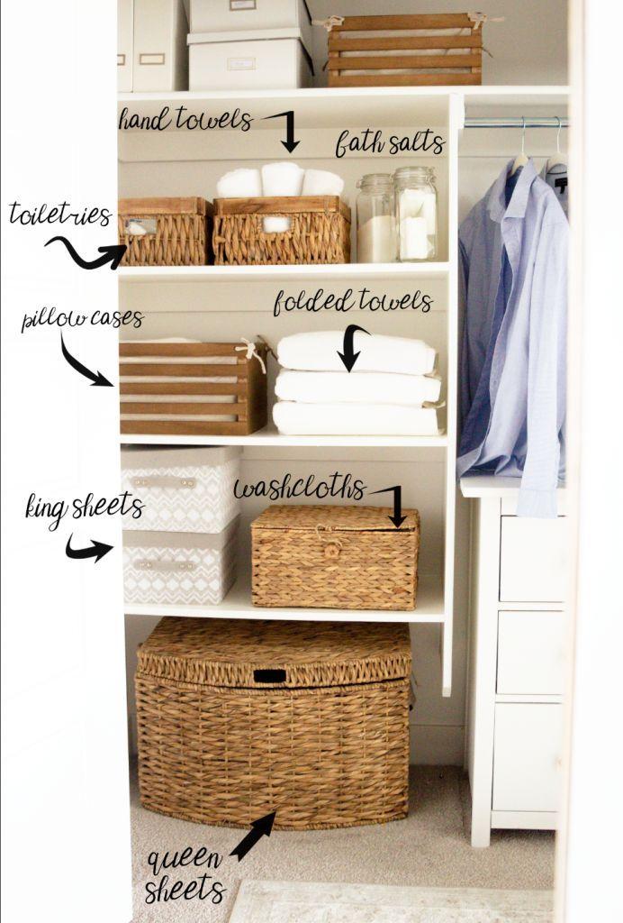 KonMari Your Linen Closet - Honeybear Lane