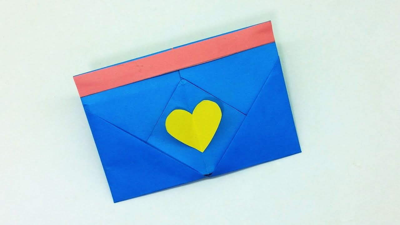 Photo of Very Easy Origami Envelope Tutorial | How to make a paper envelope | DIY Homemade Envelope