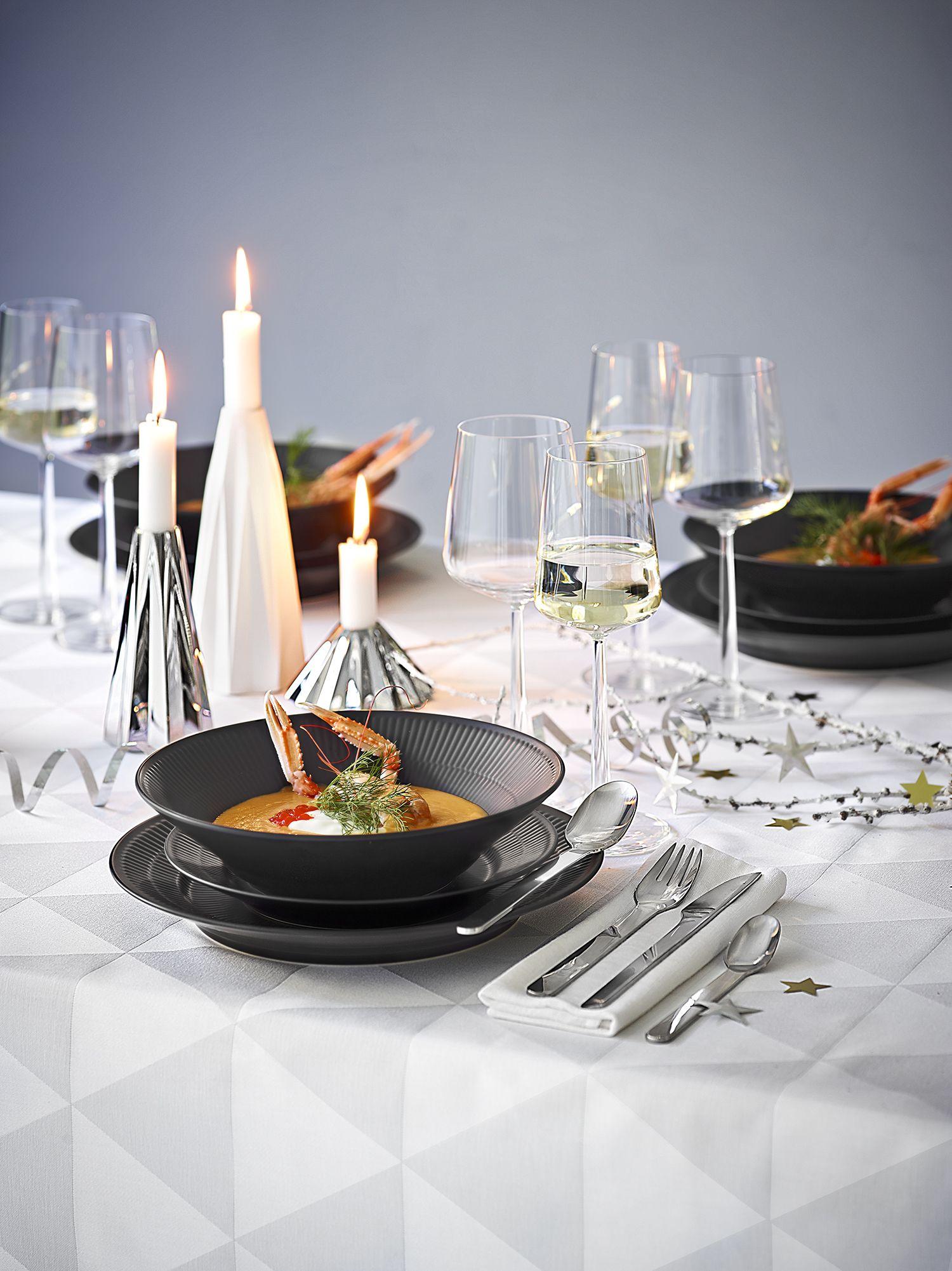 Fantastisk Inspiration til flot borddækning i rigtig nytårs stil. Brug f.eks BY52
