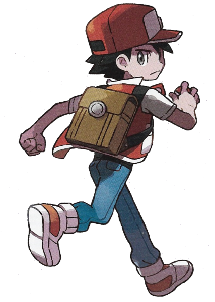 File Lets Go Pikachu Eevee Red Png Pokemon Red Pokemon Trainer Red Pokemon Red Blue