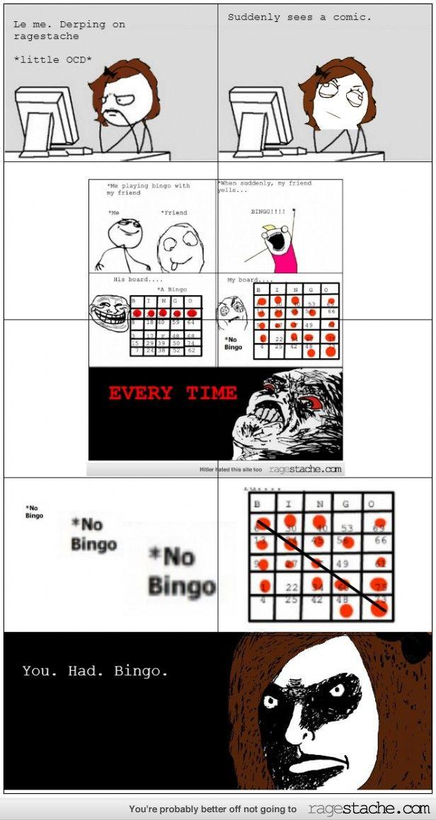 "He Had Bingo!! I saw this the other day I was just like, ""HE HAD BINGO!!"""