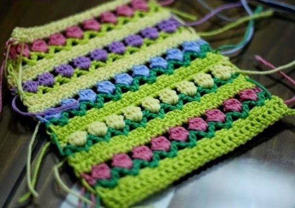 TRICO y CROCHET-madona-mía: Técnicas de tejidos de Crochet ...