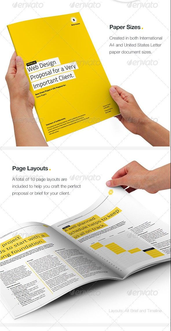Proposal Layouts 55 Best Business Proposal Templates In Indesign Psd & Ms Word .