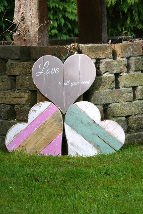 Pallet Wooden Heart By Anniesfarmhousecraft On Etsy Wooden Hearts Wooden Pallet Crafts Pallet Heart