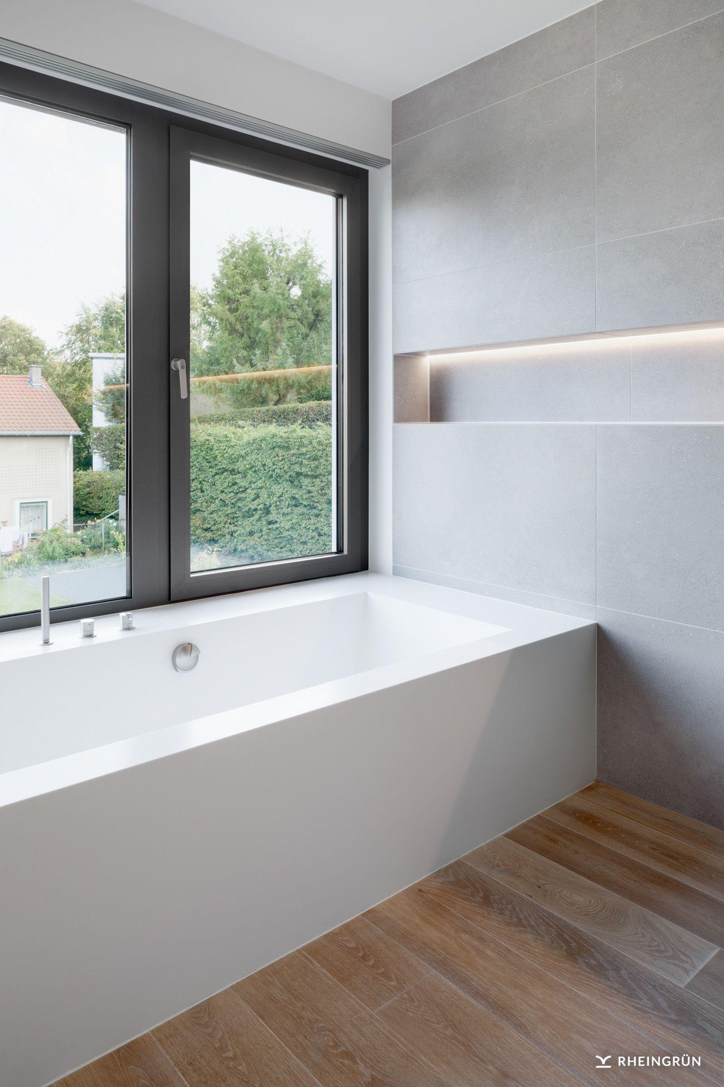 Exklusive Villa mit modernen Wasserbecken aus Cortenstahl und stimmungsvoller Gartenbeleuchtung #dreammansion