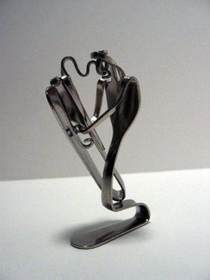 Fork Art – Man Made up of Fork