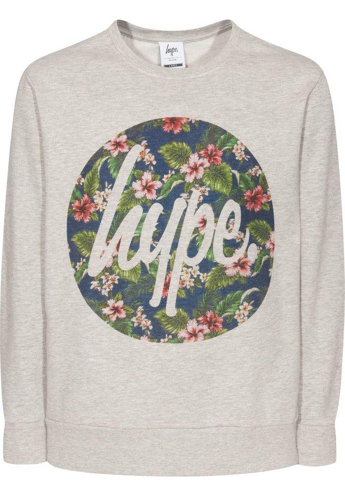 Hype. Hype-Flower-Circle - titus-shop.com  #Sweatshirt #MenClothing #titus #titusskateshop