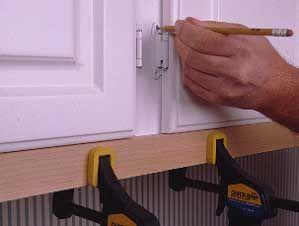 Replacing kitchen cabinet doors | Replacing kitchen ...