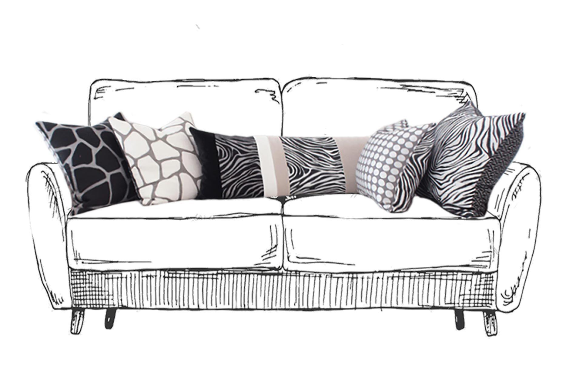 Cuscini Sul Divano.Cuscini Come Disporre I Cuscini Sul Divano Sofa Interior Design