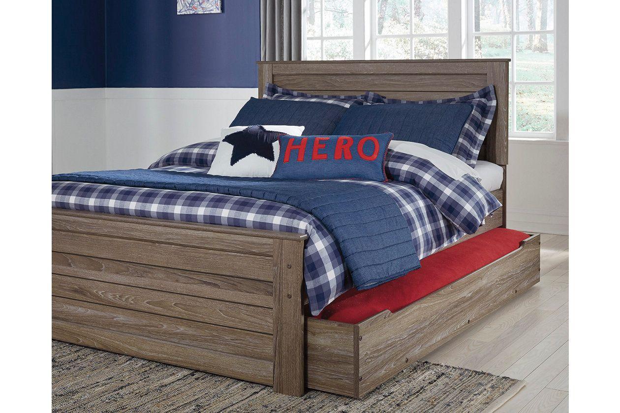 Javarin Twin Panel Bed With Storage Ashley Furniture Homestore