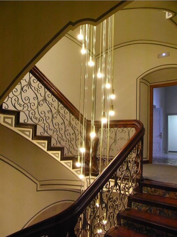 Lamparas Colgantes Para Escaleras