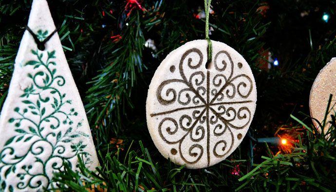 decoracion navidad adornos navideos caseros manualidades pasta de