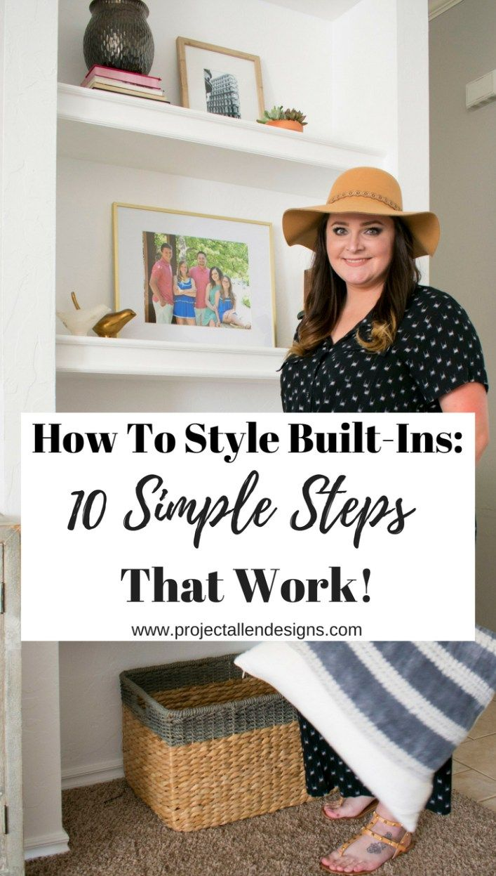 How To Style Built-In Shelves: 10 Simple Steps That Work images