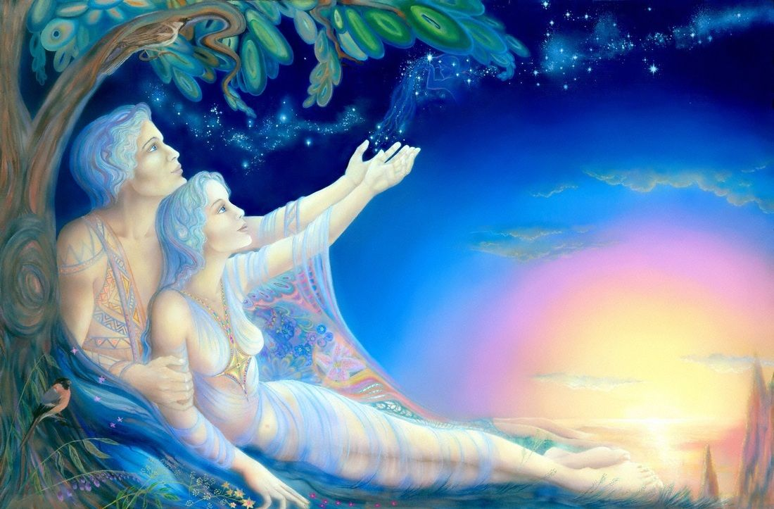♥~The SACRED Twin Flame Reunion embodies a frequency throughout the