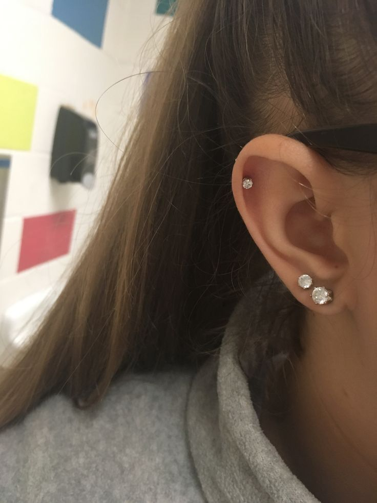 In love with my helix piercing | Edgiest Piercings | Rook Or Forward Helix | How To Balance E... #earpeircings