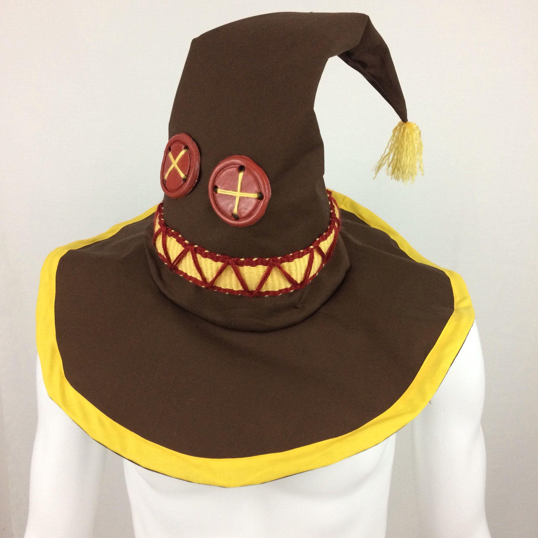 Megumin Konosuba inspired Wizard Hat Cosplay Costume