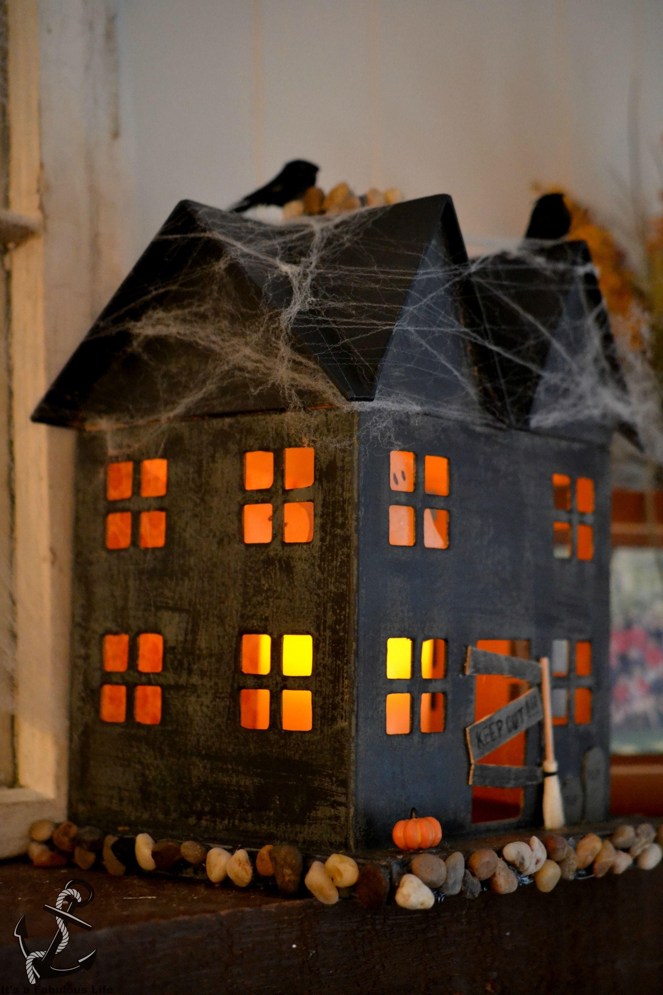 DIY Haunted House Halloween Pinterest Haunted houses - halloween house decoration ideas