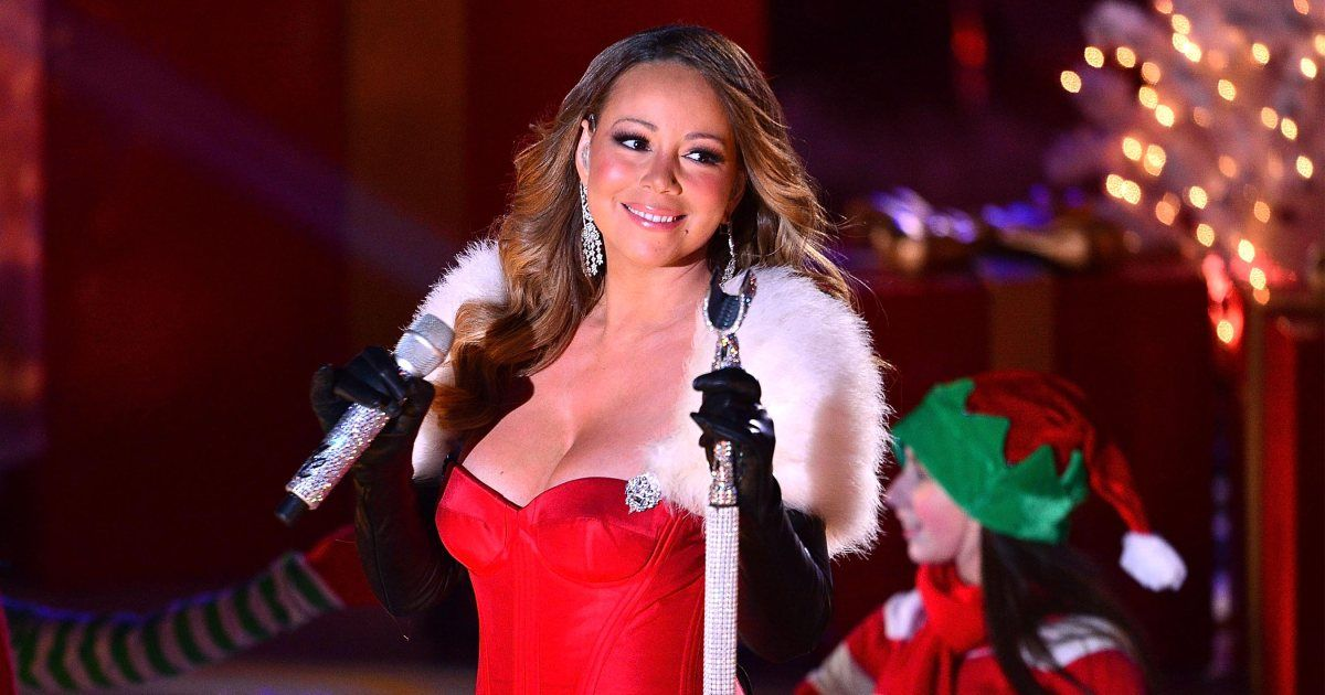 Mariah Carey On The Once In A Lifetime 25 Year Success Of All I Want For Christmas Is You Mariah Carey Christmas Song Mariah Carey Christmas Mariah Carey