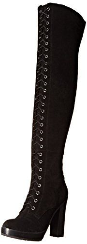 Aldo Women's Adeasien Motorcycle Boot, Black Suede - Size 8 - Link:  http://www.amazon.com/dp/B014RMQ2K8/ref=cm_sw_r_pi_dp_OVqvxb1J4EK5B