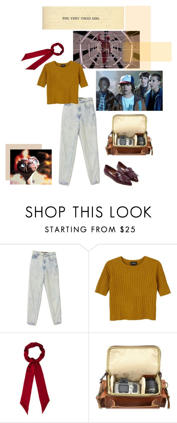 """""""WE KISSED AS THOUGH NOTHING COULD FALL (NOTHING COULD FALL)"""" by little-red ❤ liked on Polyvore featuring Monki, Henri Bendel and nerds"""