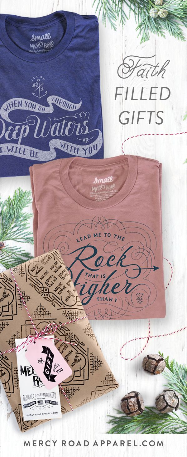 Christian gift ideas for women and men scripture inspired uniquely christian gift ideas for women and men scripture inspired uniquely handcrafted and gloriously comfy tees from mercy road apparel ships free usa negle Image collections