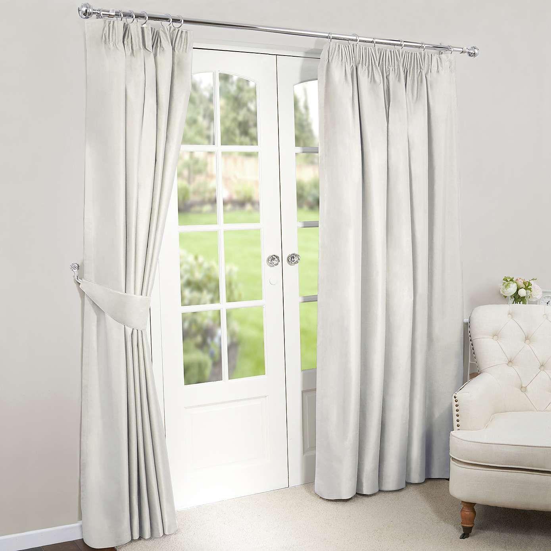 Pleasant Nova Natural Blackout Pencil Pleat Curtains Curtains In Theyellowbook Wood Chair Design Ideas Theyellowbookinfo