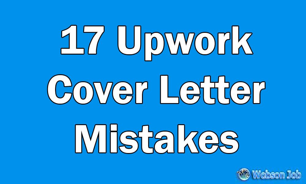 Most Of The New Freelancers Do This Cover Letter Mistake When