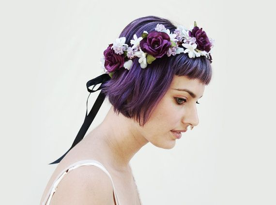 Hey, I found this really awesome Etsy listing at https://www.etsy.com/listing/201398352/violet-lavender-rose-crown-radiant