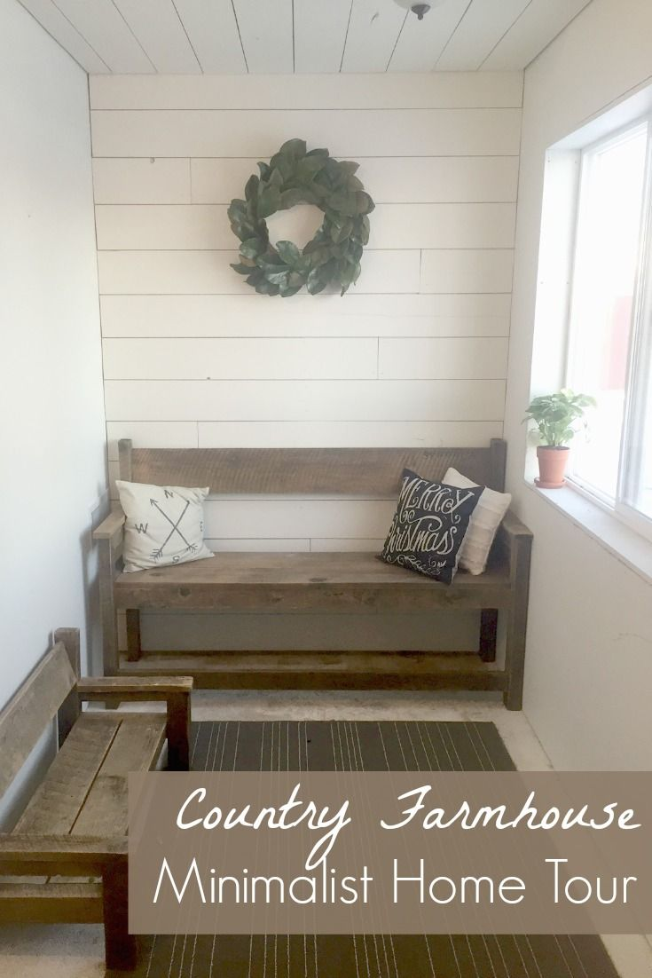 Country Farmhouse Minimalist Home Tour Alisha Home Next House