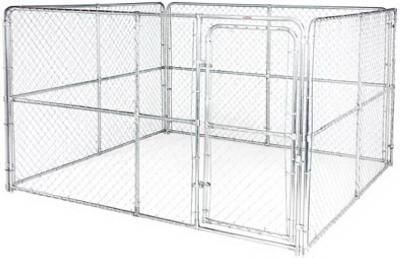 10 X 10 X 6 Chain Link Kennel Kennels Dog Kennel Dog Kennel Outdoor Kennel