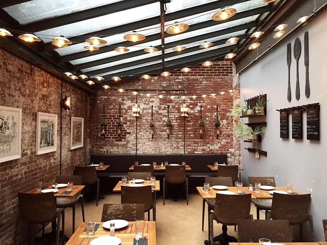 Barbalu Restaurant, NYC · Terrace RestaurantRestaurant InteriorsRestaurant  IdeasSmall ...