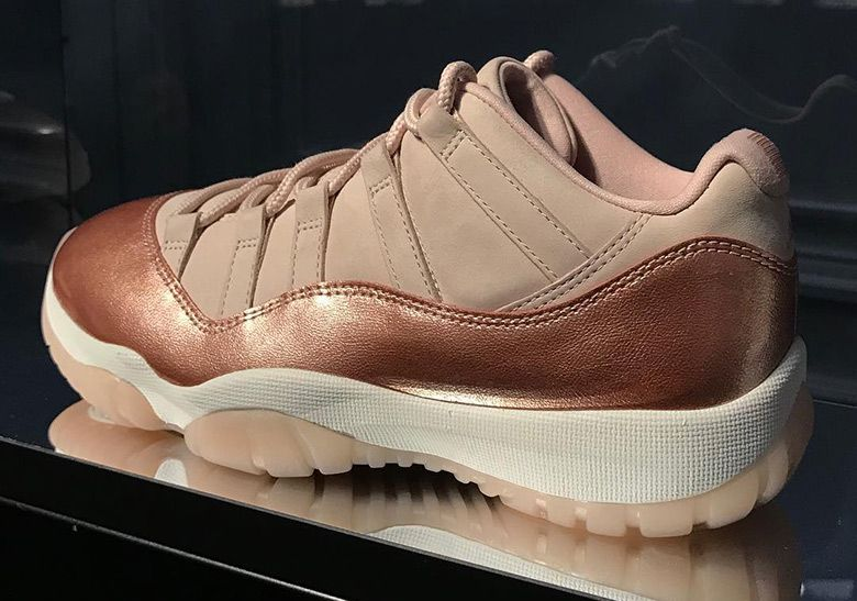 Womens Exclusive Air Jordans In Rose Gold Are Coming Soon  8f30b5376