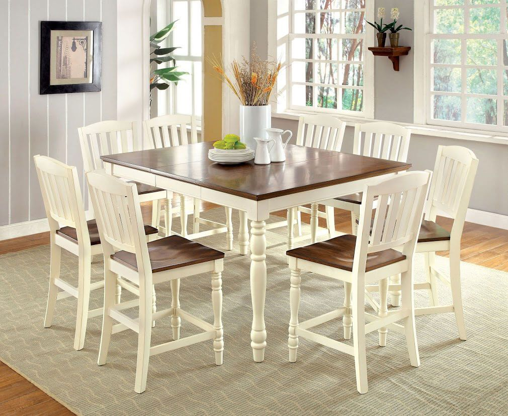19 9 Piece Antique Dining Set In Dining Room Design Ideas Wood