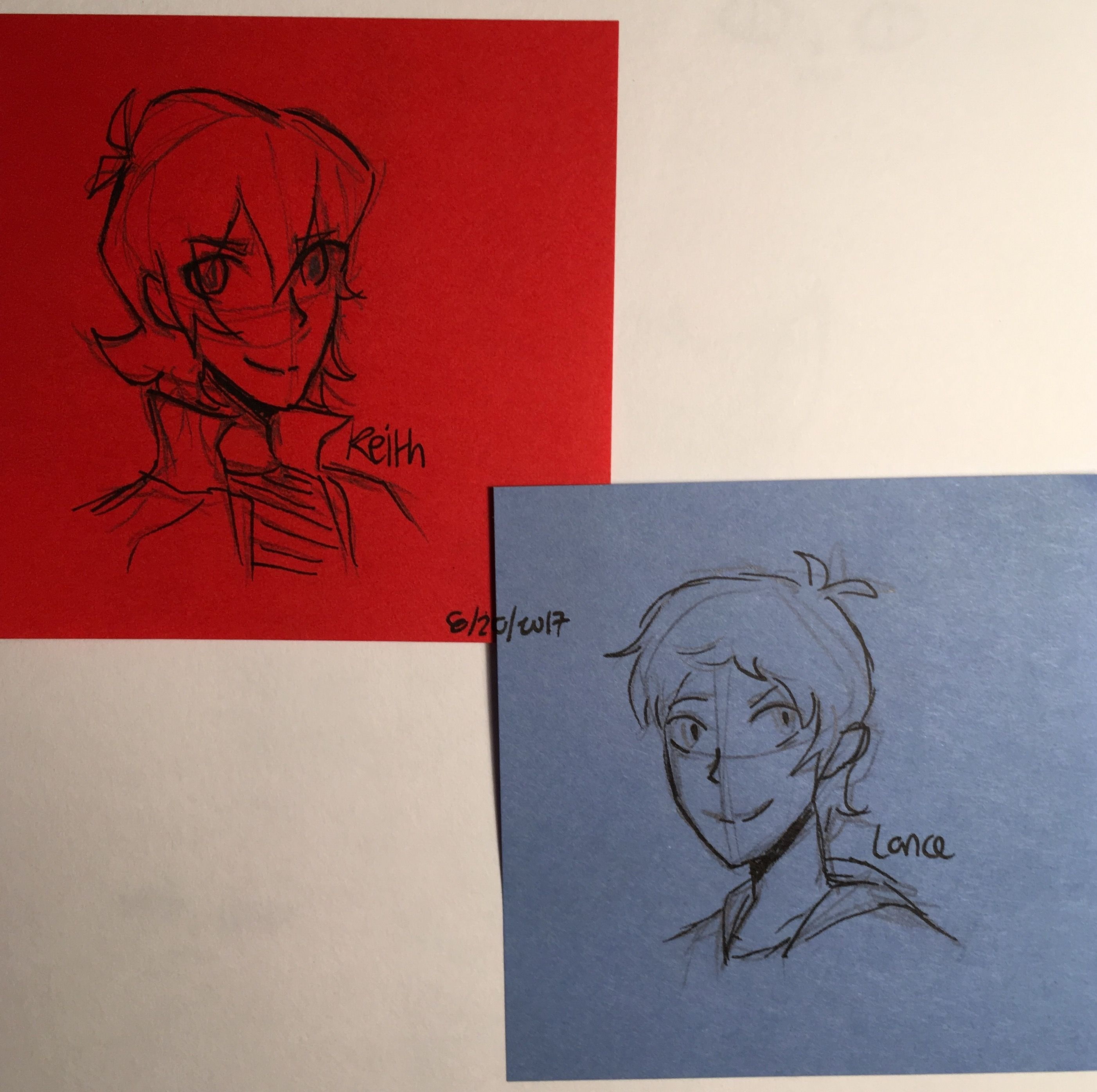 Some Keith & Lance doodles on Postit notes Artist, Art