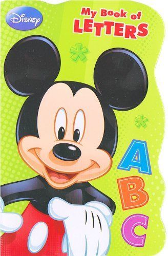 Disney Mickey Mouse Board Book  My Book of Letters >>> Want additional info? Click on the image.