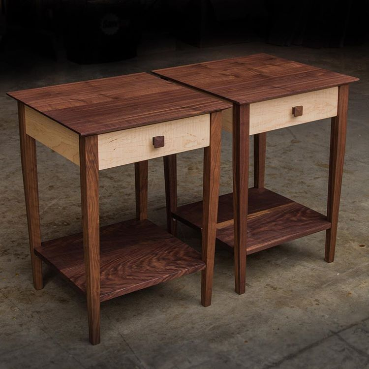 Matching Nightstands To Go With Previous Pieces Such A Handsome