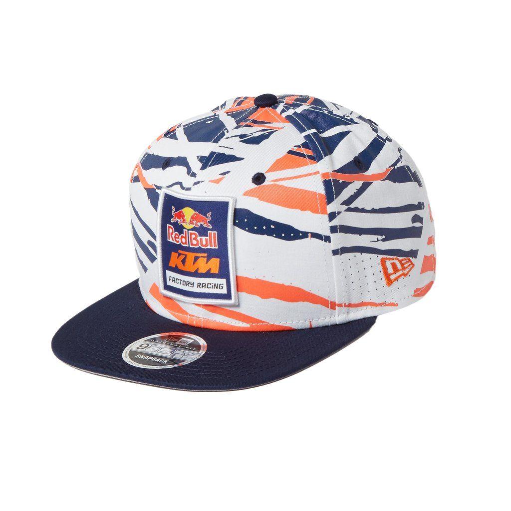 dead7f91f Red Bull KTM Factory Racing AOP Tracks Print Hat en 2019 | 帽 ...