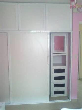 Closet aluminio blanco closet ideas pinterest for Closet de aluminio