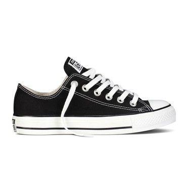 Chaussures Converse Noir Femme : Converse Basse Blanche
