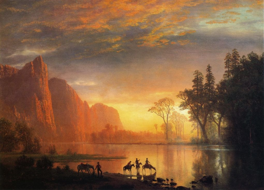 a formal analysis of the yosemite fall by albert bierstadt The predominant body of cultural and artistic scholarship on albert bierstadt the rocky mountains english literature essay analysis of the formal.