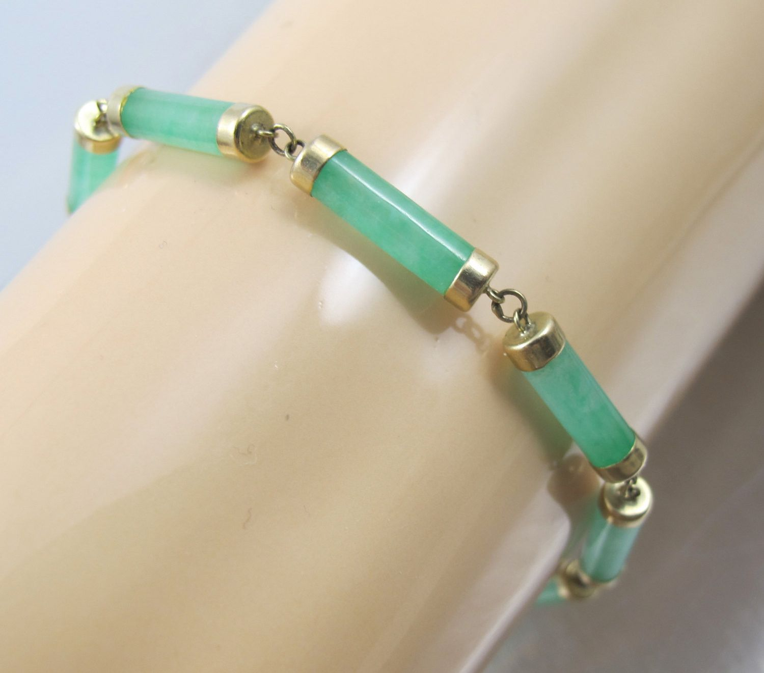 and bracelet green jade bracelets diamond pin bochic jewelry carved