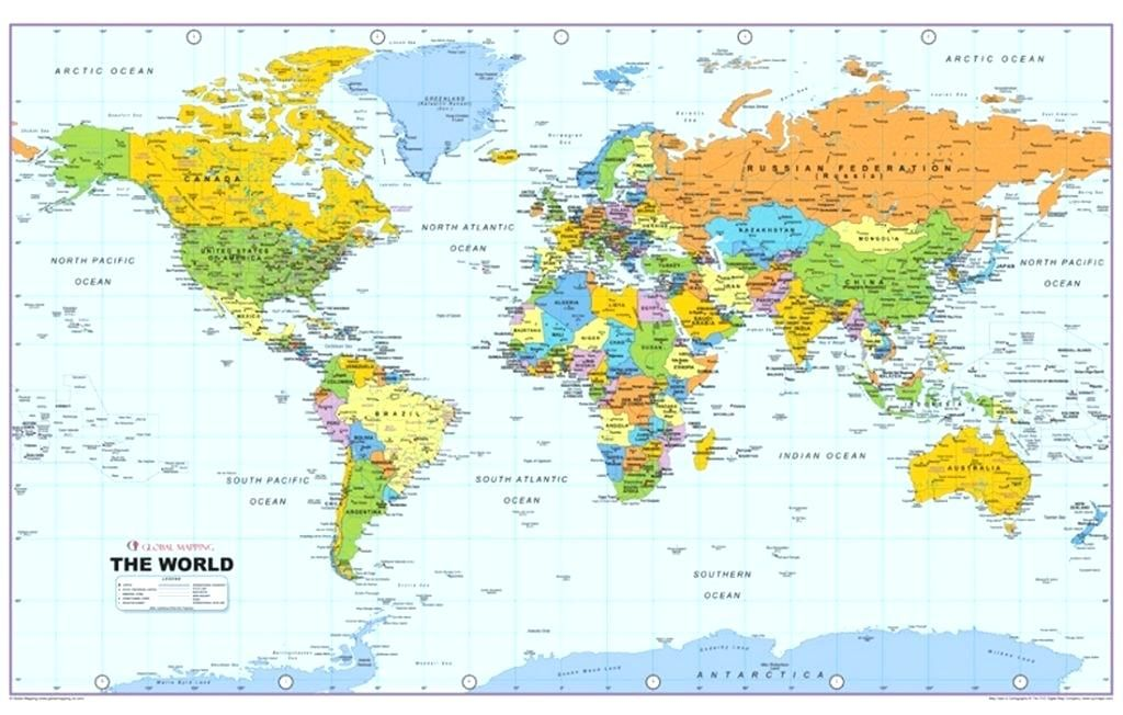 Detailed Map Of The World.Detailed World Map High Resolution Accurate Vector World Map
