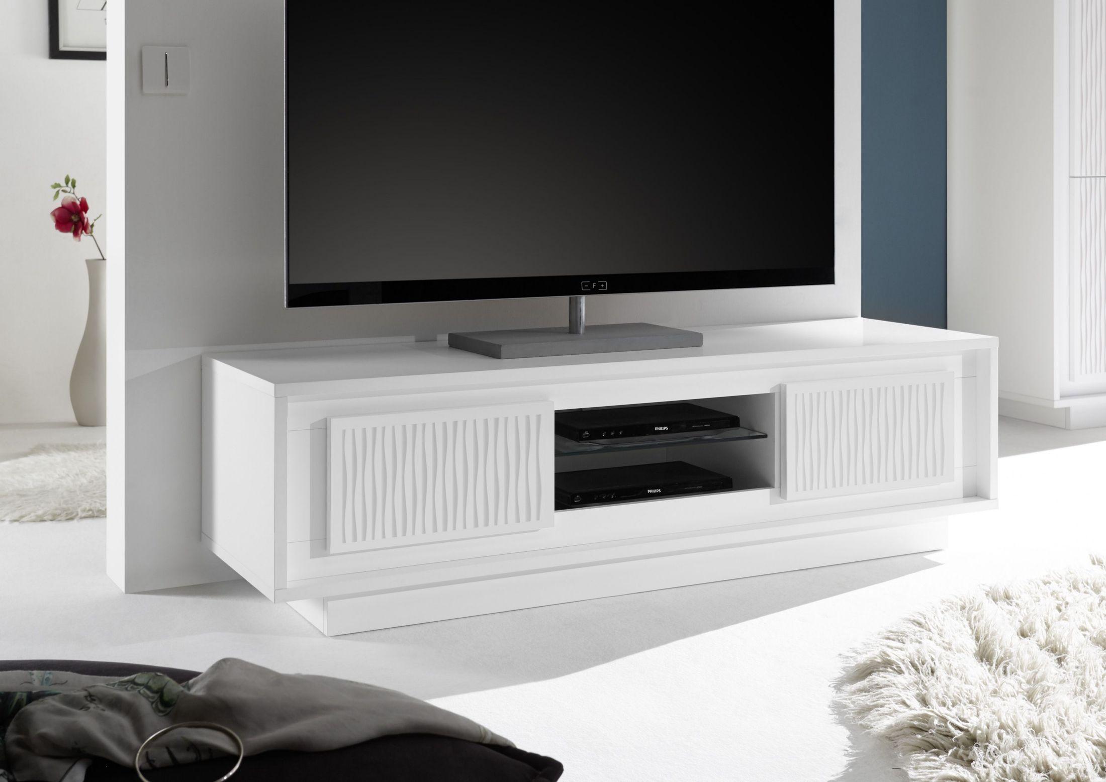 wohnzimmer modern tv : Tv Unterteil Weiss Woody 12 01146 Holz Modern Jetzt Bestellen