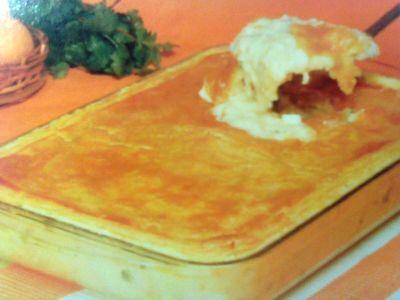 Receitas - Bacalhau cremoso em crosta folhada - Petiscos.com
