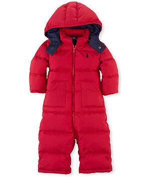 cc93e6313c97 Ralph Lauren Baby Snowsuit