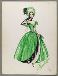 Brooklyn Museum: Fashion and Costume Sketch Collection.