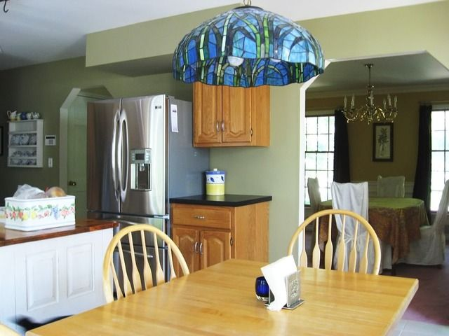 Painted In A Kitchen With Oak Cabinets
