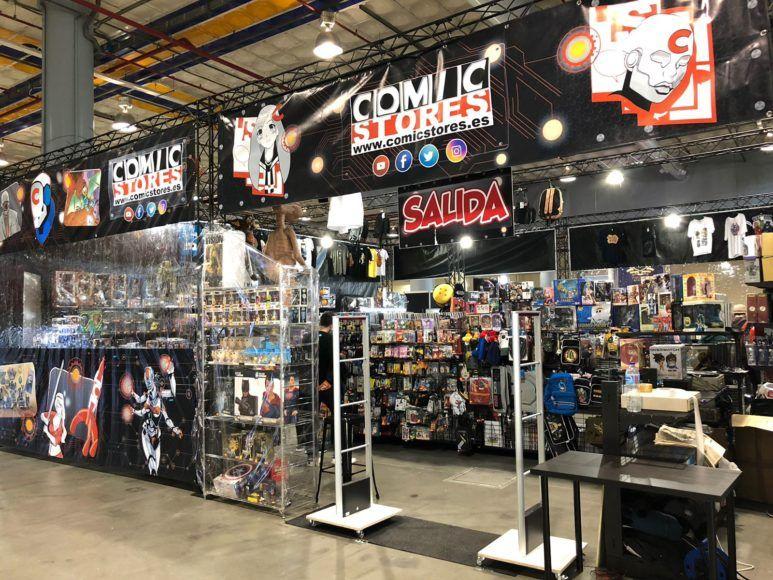 Exito De La Presencia De Comic Stores En Heroes Comic Con Valencia